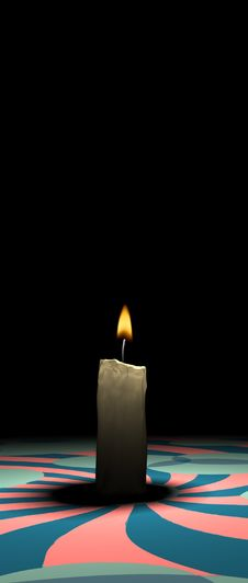 Free Candle Light Royalty Free Stock Photos - 3414808