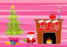Free Merry Christmas1, Illustration Royalty Free Stock Photos - 3414988