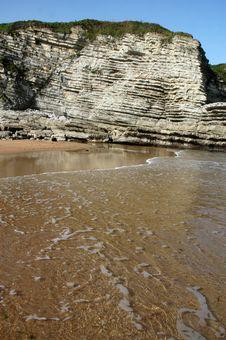Free Monumental Rock In Sea - Spain Royalty Free Stock Image - 3415076