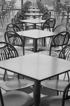 Free Café In Shopping Center Stock Photography - 3415792