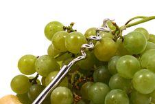Closeup Of Bunch Of Green Juic Royalty Free Stock Image