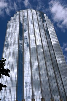 Free The Glass Tower Royalty Free Stock Photo - 3415935