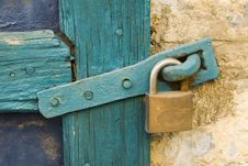 Free Old Lock Royalty Free Stock Images - 3416339