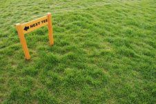 Free Golf Playground - Next Tee Stock Photo - 3416490