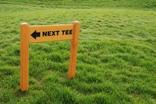 Free Golf Playground - Next Tee Royalty Free Stock Photography - 3416507