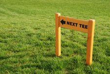 Free Golf Playground - Next Tee Stock Image - 3416521