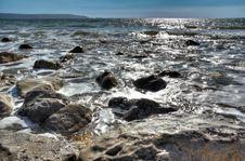 Seashore Reflections Royalty Free Stock Image