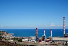 Free Industrial Park In Sicily Stock Photos - 3416863
