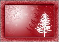 Free Christmas Postcard 1 Stock Photos - 3417863