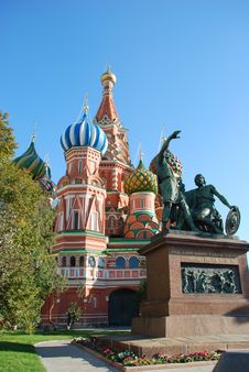 Free St.Basil Cathedral In Moscow. Stock Photos - 3419853
