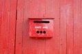 Free Red Post Box Stock Photography - 34104962