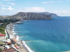 Free Crimea, Sudak Stock Images - 34103324