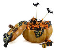 Free Pumpkin With Gifts 2 Stock Photo - 34158770