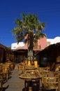 Free Santorini Restaurant Greece Stock Photo - 34159570