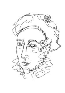 Head Of Pierrot Stock Image