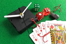 Free Gambling Addiction Royalty Free Stock Photography - 34157517