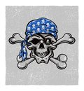 Free Pirate Skull. Hand Drawn. Vector Eps8 Royalty Free Stock Image - 34163456