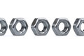 Free Metallic Nuts Stock Images - 34166624