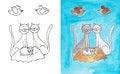 Free Cat Family Royalty Free Stock Photo - 34169165