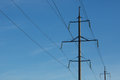 Free Electricity  Power Line Royalty Free Stock Photography - 34169337