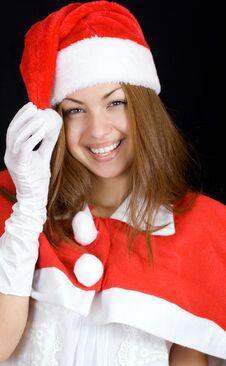 Free Cheerful Santa Royalty Free Stock Image - 34162876