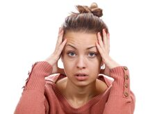 Free Woman With Headache Royalty Free Stock Image - 34163176