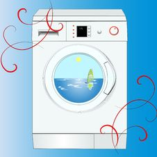 Free Modern Noiseless Washing Stock Image - 34168891