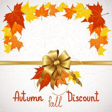 Free Autumn Fall Of Discount Stock Photos - 34169323