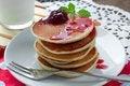 Free Pancakes Stock Photo - 34170010