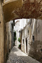 Free Alley With Arch Royalty Free Stock Image - 34176036