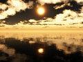 Free Sea Sunset Royalty Free Stock Image - 34176276