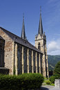 Free Church Tower Shot Royalty Free Stock Image - 34179556