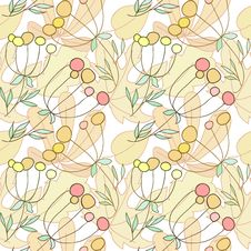 Free Seamless Autumn Texture Royalty Free Stock Images - 34171319