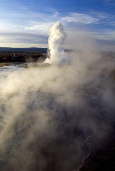 Free Geysir Spout Geysir, Iceland Stock Image - 34176091