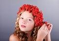 Free Beautiful Autumn Portrait Royalty Free Stock Photos - 34185808