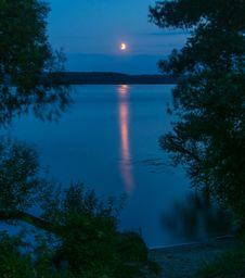 Free Moon Path Stock Photos - 34181553