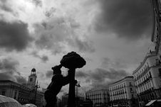 Free Puerta Del Sol, Madrid Royalty Free Stock Images - 34186089