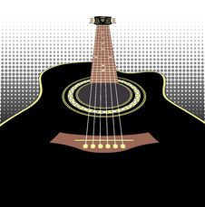 Free Acoustic Guitars Stock Images - 34186914