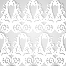 Seamless White Royalty Free Stock Images