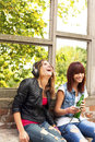 Free Happy Girls Stock Photography - 34192782