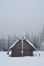Free Wooden Hut In The Mountains Stock Photos - 34194893