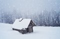 Free Hut In The Forest Stock Photo - 34194930