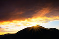 Free Sunset In The Mountains Stock Photos - 34195513
