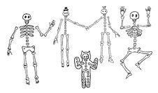 Free Skeletons Stock Photos - 34190763