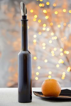 Free Orange And Wine Stock Photos - 34192003