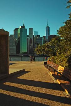 Free Brooklyn Bridge Park, New York City, USA Royalty Free Stock Images - 34192909
