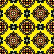 Seamless Textile Pattern  Design Royalty Free Stock Photos