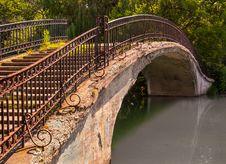 Free Park Walk Bridge Stock Images - 34195484