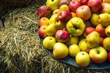 Free Apples Royalty Free Stock Photos - 34196018