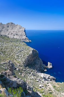 Free Formentor Abyss Royalty Free Stock Photography - 34196027